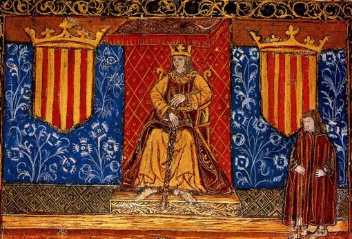 Las Cortes Catalanas según una miniatura de un incunable del siglo XV