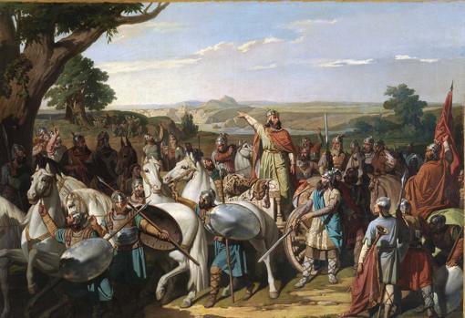 """El mito de la España """"paraíso de las tres culturas""""  - Página 2 Batalla-guadalete-kwME--510x349@abc"""