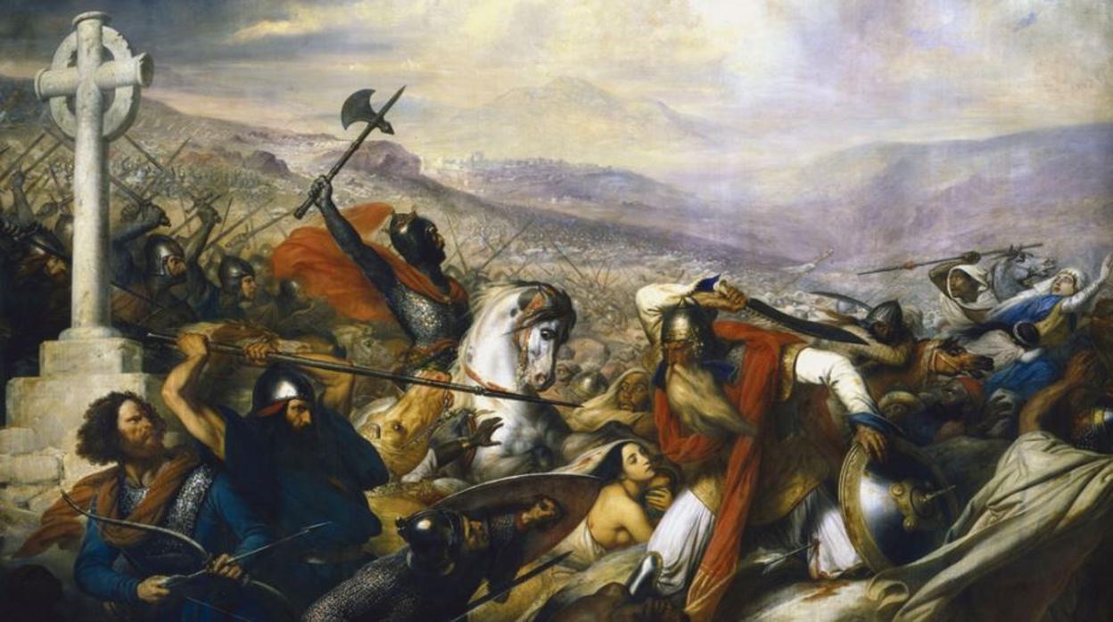 Carlos Martel, el mayordomo de acero que salvó a la cristiandad en la batalla de Poitiers