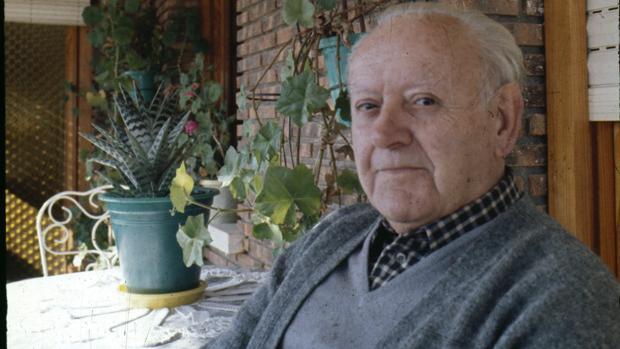 Marcial Lafuente Estefanía, durante la entrevista con «Blanco y Negro» de 1978