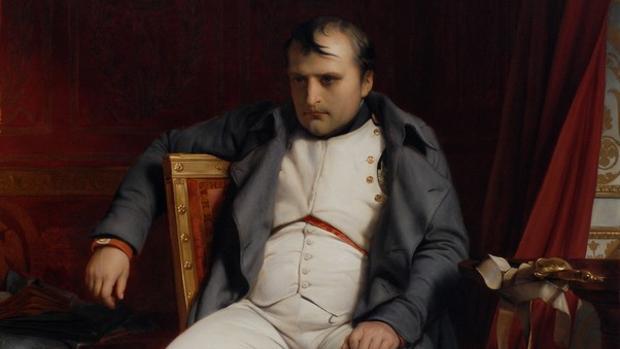 Abdicación de Napoleón en Fontainebleau, por Paul Delaroche (1845)