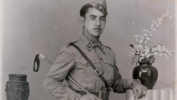 Retrato de un soldado gitano durante la Guerra Civil, cedido por la Asociación de Mujeres Gitanas ROMI