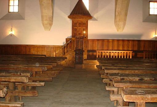 Aula de Fray Luis de León en las Escuelas Mayores de la Universidad de Salamanca.