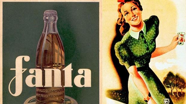 Anuncio de la época en el que se publicita esta bebida afrutada