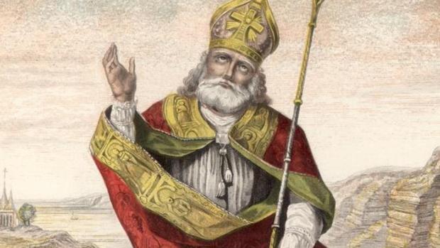 Representación de San Patricio