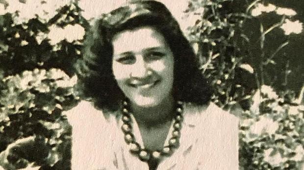 Gabriella, en 1945