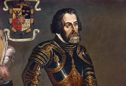 Hernán Cortés era admirado en el Imperio azteca, hasta el Emperador cayó rendido a sus encantos