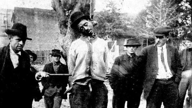Un linchamiento ocurrido en Arkansas hacia 1890
