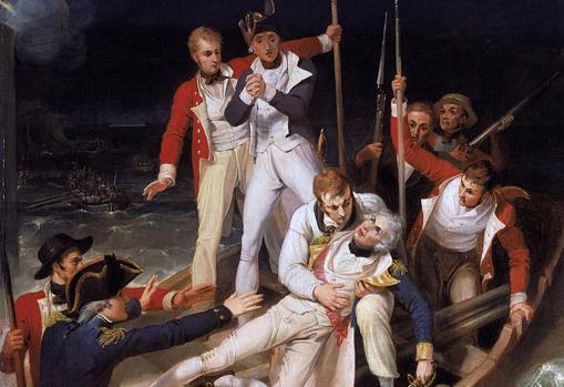 Las siete «Invencibles» inglesas que fracasaron al intentar invadir España Nelson-herida-kdrG--510x349@abc