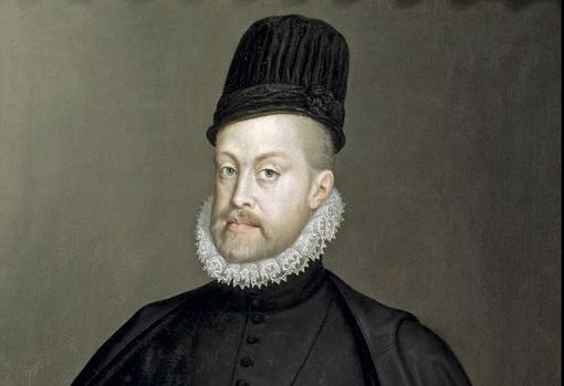 Felipe II por Sofonisba Anguissola, 1565 (Museo del Prado)