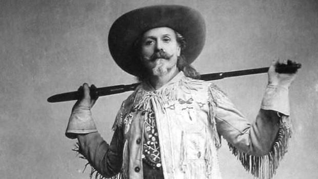 Buffalo Bill, en la década de los 80 del siglo XIX