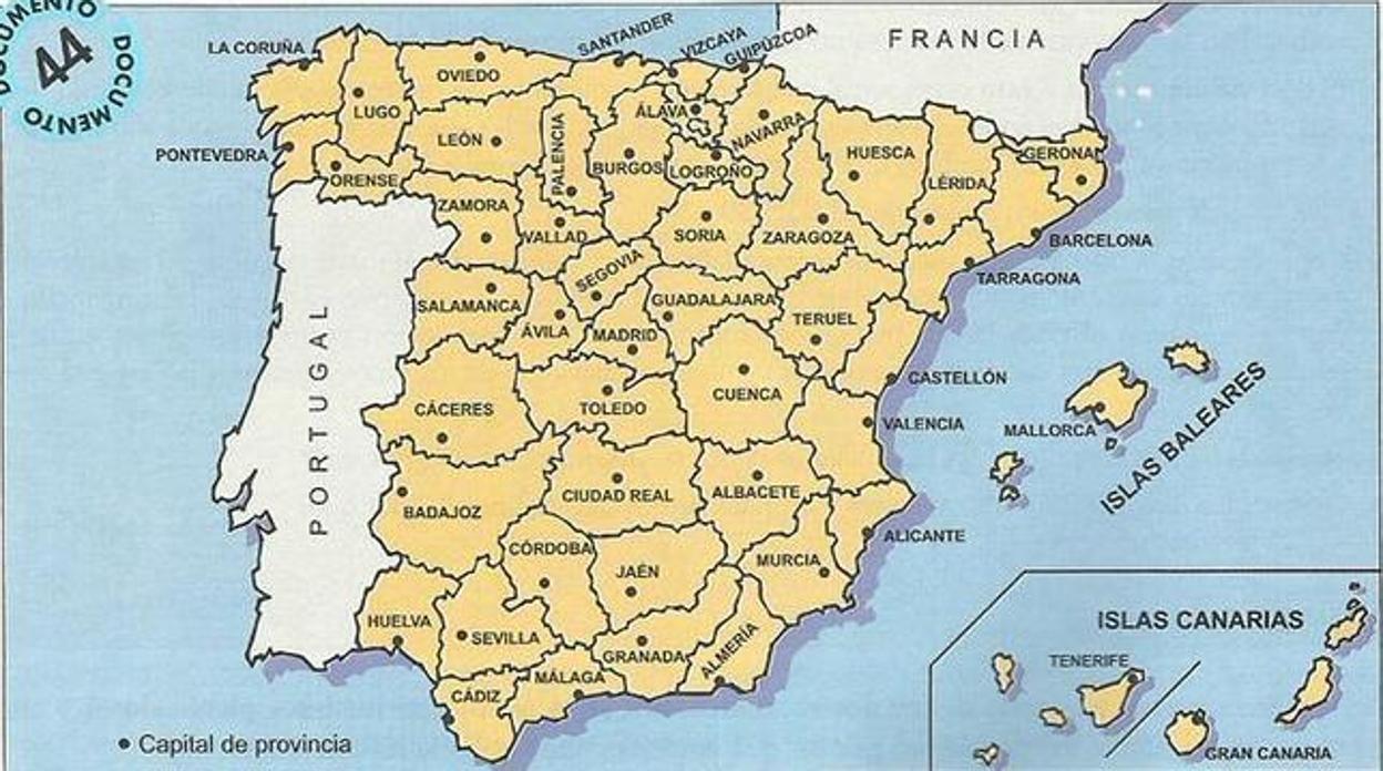 Mapa De España Burgos.Asi Acabo Espana Con Su Caos Territorial En 1833 Tras Fortalecer El Poder Del Gobierno Central