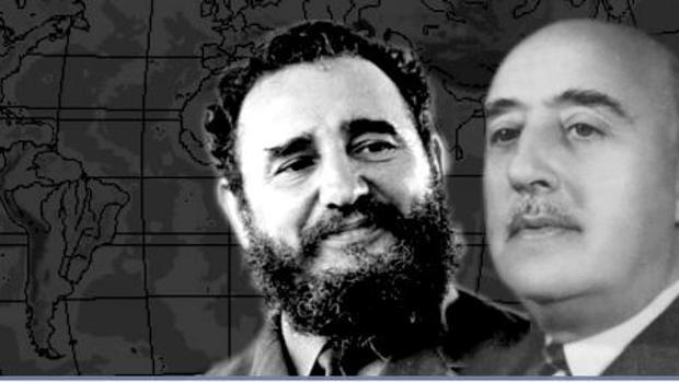 La nada secreta admiración del «gallego» Fidel Castro por Francisco Franco