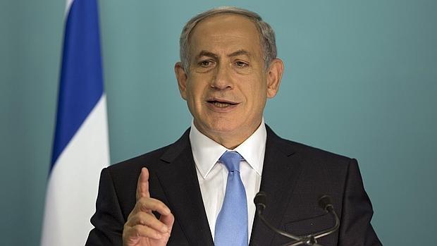 El primer ministro israelí, durante una rueda de prensa el pasado día 20 en Jerusalén