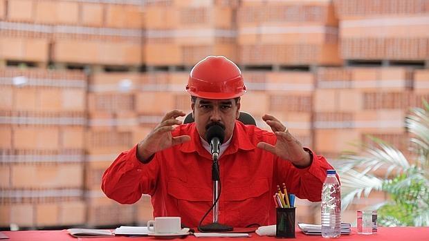 El presidente venezolano, Nicolás Maduro, en una imagen distribuida por el Palacio de Miraflores tras un acto oficial en la ciudad de Barquisimeto