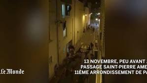 Espeluznante grabación del atentado en la sala Bataclan