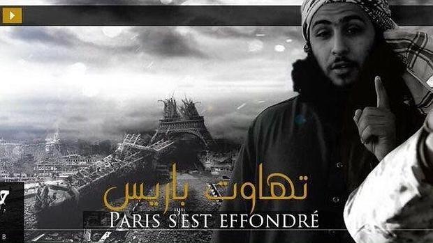Daesh publica un nuevo vídeo con la imagen de la Torre Eiffel completamente destruida