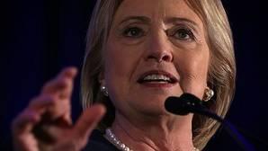 Hillary Clinton, en un mitin de su campaña