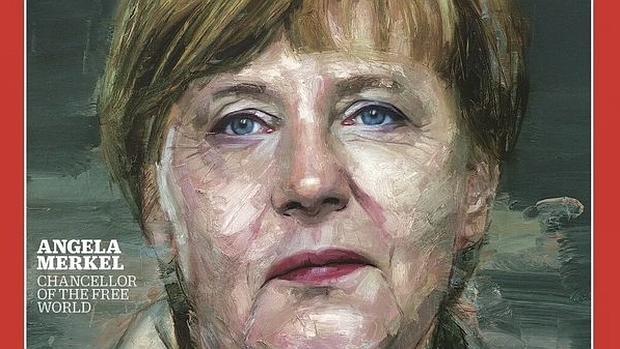 Angela Merkel, en la portada de «Time»