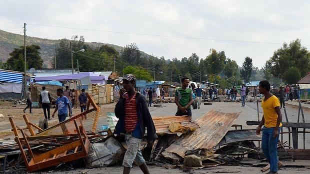 Violentas protestas agitan la Oromia etíope