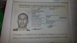 El Tamimy, nacido en Maracaibo de acuerdo con su pasaporte venezolano
