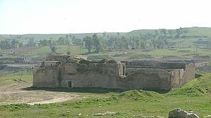 El monasterio de San Elías, en Irak, cuando permanecía en pie