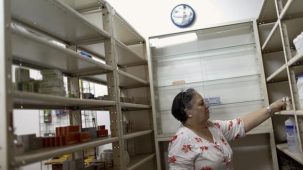 Farmacia desabastecida de Caracas