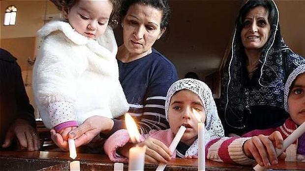 Muchos cristianos han tenido que huir de Siria ante la amenaza de Daesh