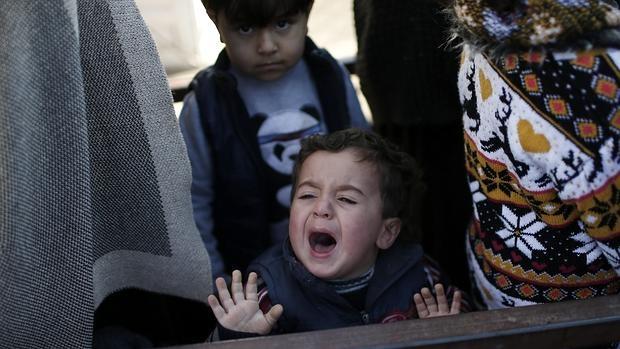Resultado de imagen para La guerra en Siria dejó a un niño muerto por hora en promedio en 2018