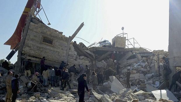 Rusia niega que sus aviones causaran la matanza en un hospital de Médicos Sin Fronteras en Siria