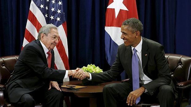 Raúl Castro y Barack Obama, en un encuentro en septiembre