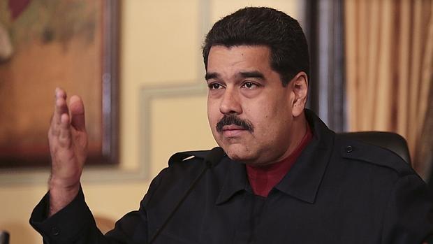 Nicolás Maduro, ayer durante un encuentro con el sector farmcéutico en Caracas