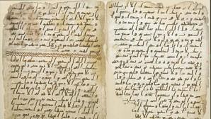 Un antiguo ejemplar del Corán en Birmingham (Reino Unido)