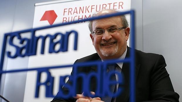 Salman Rushdie en la feria del libro de Francfurt el pasado mes de octubre