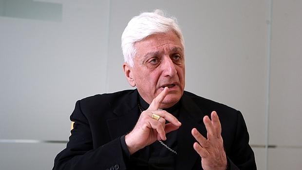 Monseñor Antoine Audo, durante la entrevista ERNESTO AGUDO