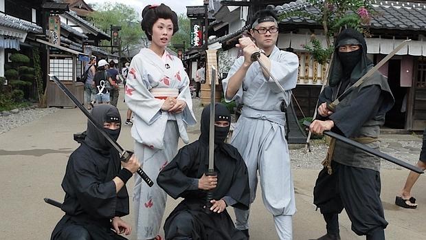 Ofertas para trabajar a tiempo completo como ninja en Japón