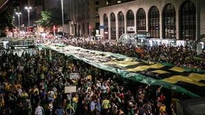 Manifestación contra Lula en Brasil