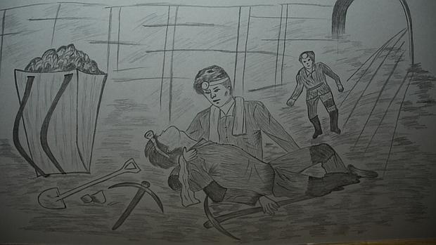 Kim Hye-sook, recluida en un campo de trabajo desde los 12 años hasta los 40, pintó los horrores del gulag.