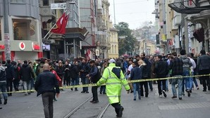 La avenida Istiklal ha sido acordonada