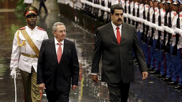Maduro y Cuba
