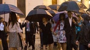 El protocolo tropical de la familia Obama en Cuba