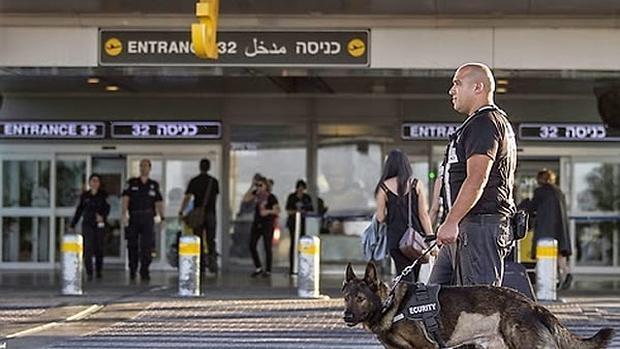 Aeropuerto Ben Gurión, en Tel Aviv