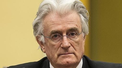 Radovan Karadzic, en su comparecencia ante el Tribunal de La Haya