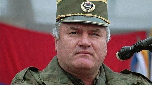 Ratko Mladic, responsable de la matanza de Srebrenica