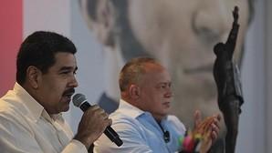 El presidente, Nicolás Maduro, y el expresidente de la Asamblea Nacional, Diosdado Cabello