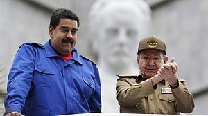 Maduro con Raúl Castro en una reciente visita a La Habana