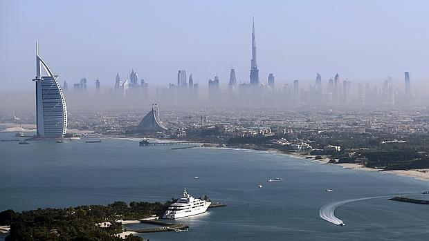 Vista general de Dubai, en los Emiratos Árabes Unidos