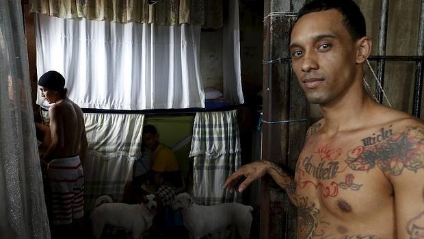 Una celda de la prisión panameña de «La Joya»