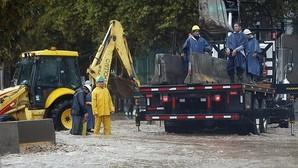 Un muerto y siete desaparecidos por las fuertes lluvias en Santiago de Chile