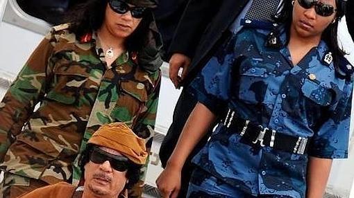 La guardia amazónica de Gadafi
